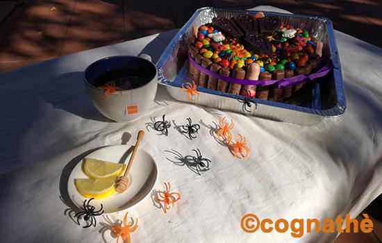 torta Halloween infuso arancia zenzero cognathe