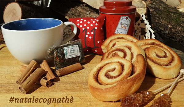 cognathe, the, the verde, bancha, spezie, erboristeria, ricette, infusi, tisane, Cinnamon Rolls