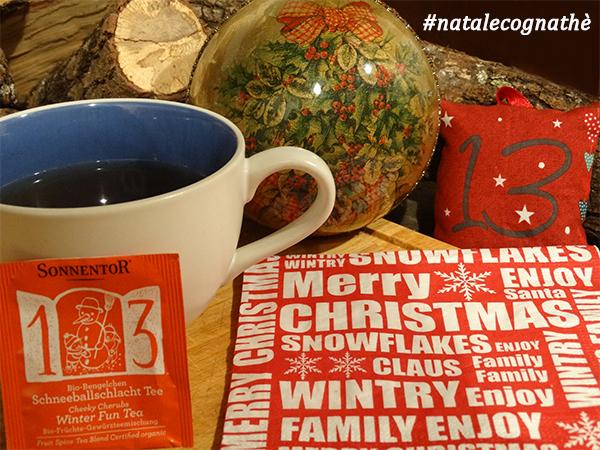 cognathe, winter fun tea, sonnentor, ricette, the, infusi, tisane, natale, calendario avvento
