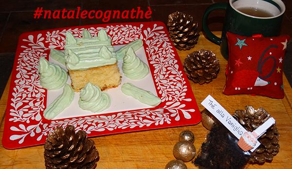 cognathe, ricette, the, tisane, infusi, vaniglia, torta paradiso, fecola di patate, frosting, natale, calendario avvento, the nero, erboristeria, the sfuso