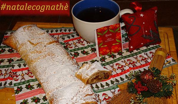 cognathe, the, infusti, tisane, ricette, strudel, mele, natale, calendario avvento, cannella, neavita,