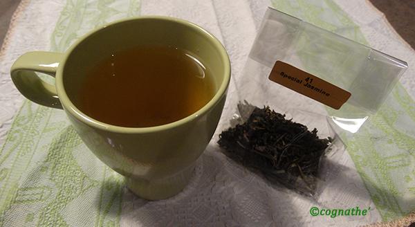 thè verde al gelsomino, Special Jasmine, la via del tè, firenze, thè, infusi, ricette, congnathe
