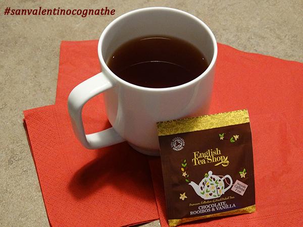 Infuso al cioccolato, cognathè san valentino tisana cioccolato e vaniglia, cioccolato, vaniglia, tisana san valentino, ricette, thè, tea, tè,
