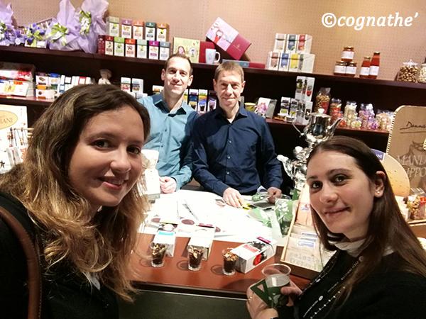 Il Racconto di taste 12 delle CognaTHE selfie con Meridiani Union-Jack Atlantide