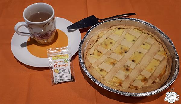 Infuso Orange di Trentino Erbe CognaTHE' infuso all'arancia