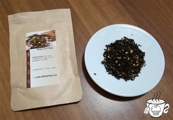 thè e infusi per Pasqua Masala Chai di Altair Tea cognaTHE'