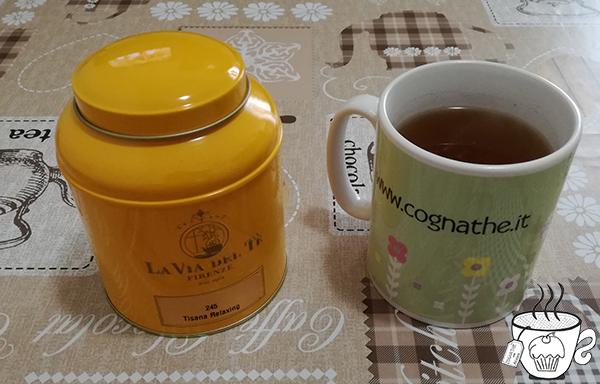 torta di laurea, cognathe, ingredienti, pasta di zucchero, tisana relaxing la via del tè, firenze,