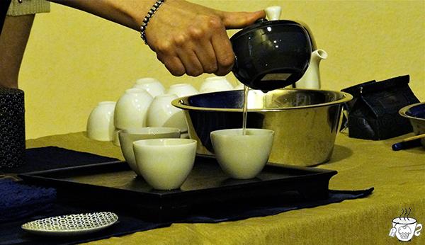 Cerimonia del thè giapponese Sencha-do cognaTHE'