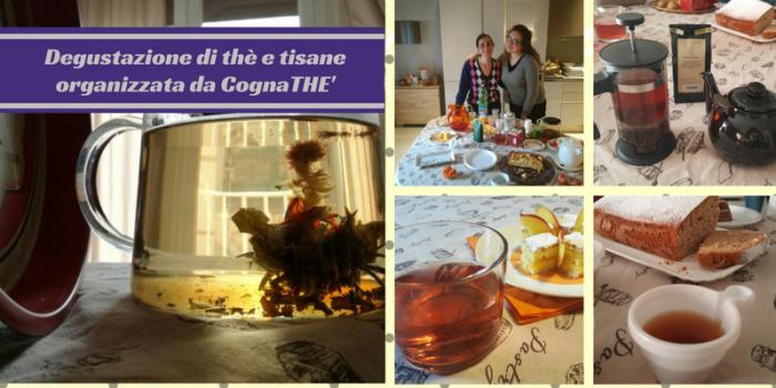 degustazione di thè e tisane organizzata da CognaTHE' dolci e biscotti