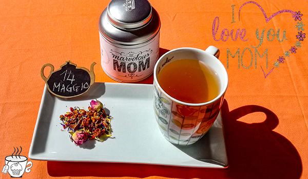 un the per la mamma festa della mamma Strawberry Cream Tea di Tafelgut tisana per le mamme
