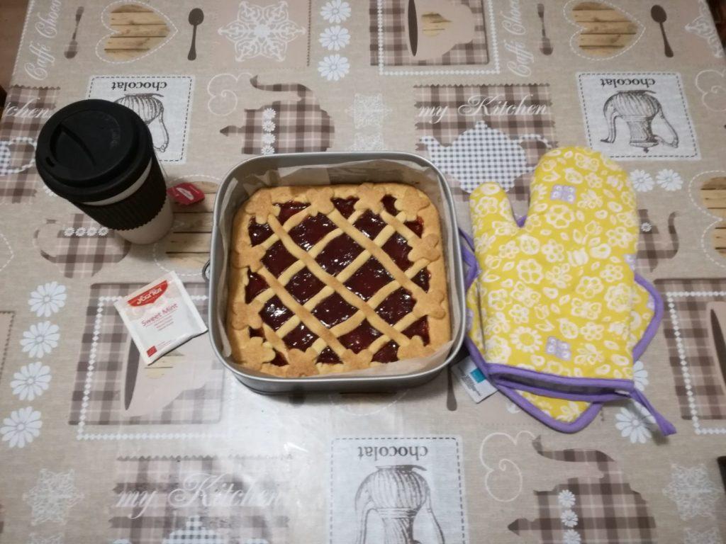 Crostata alla marmellata di fragole, CognaTHE'