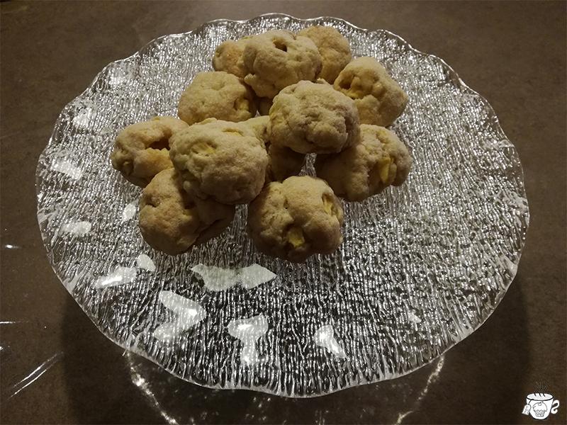 biscottini alle mele thè al cacao choco coconut tea di Tafelgut CognaTHE'