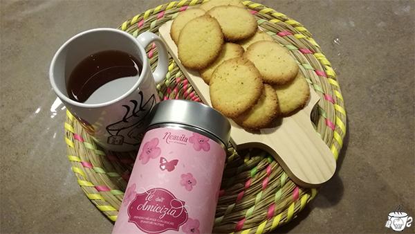 biscottini al limone thè dell'amicizia CognaTHE'