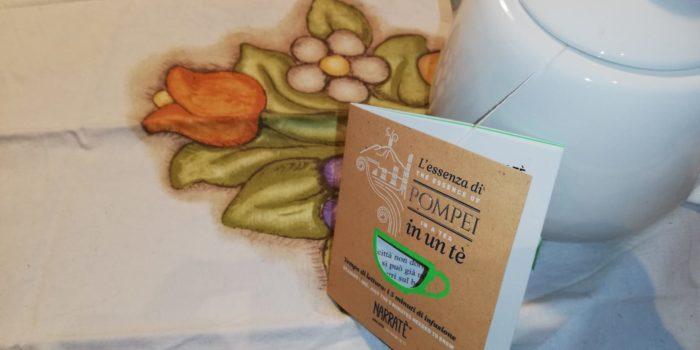 CognaTHE', tè. thè, tisane, tea, infusi, narratè, pompei, narratè di pompei