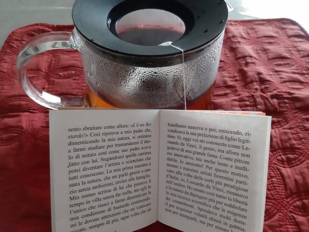 tè dedicato a Leonardo da Vinci, Narratè, CognaTHE', tè, tea, tè nero, la lettura ha scoperto l'acqua calda, recensioni di tè