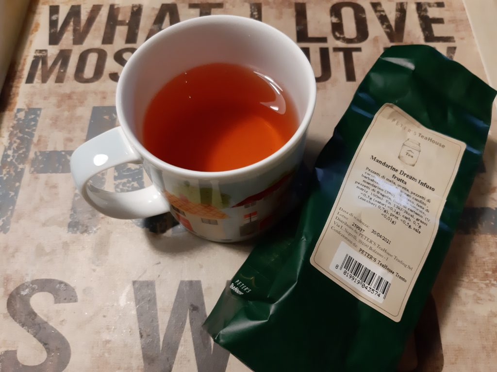 infuso freddo al mandarino, mandarino, tè, tea, tisana, infuso, cognathe, blog cognathe, peter's TeaHouse, infuso freddo, infusione fredda, blog di tè, tè e ricette