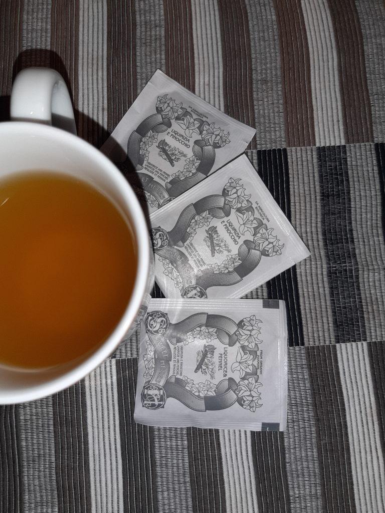 Cognathe, tè, tisane, infuso, liquirizia amarelli, tisana Liquirizia e Finocchio biologica