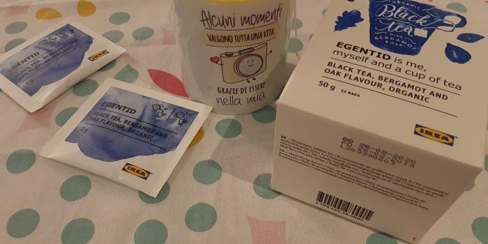 Tè nero Ikea aromatizzato al Bergamotto e quercia, cognathè, tè nero, cognathe blog, tè, tea, ricette, infusi, dolci, docetti, biscotti, ikea, tè ikea,