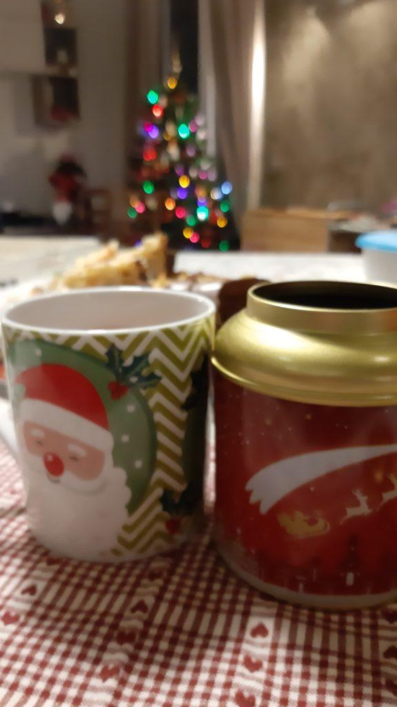 Tè nero di Natale, cognaTHE', tè nero, buon natale, tè buon Natale, PETER'S TeaHouse, tè PETER'S TeaHouse