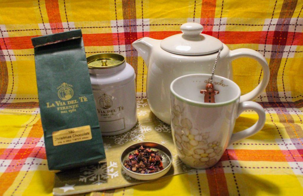 Christmas Chocolate, infuso, La Via del Tè, Christmas Chocolate di La Via del Tè, cognaTHE'
