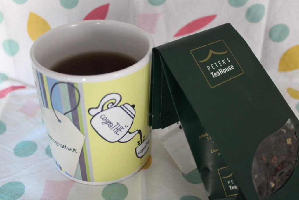 cognaTHE', tea, tè, tisane, infusi, ricette, dolci, bisottini, tè nero, black tea, peters's TeaHouse, tè panna e fragola