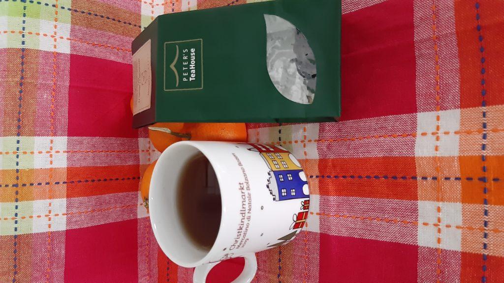 tè nero mandarino e cannella, PETER'S TeaHouse, cognaTHE', tè nero