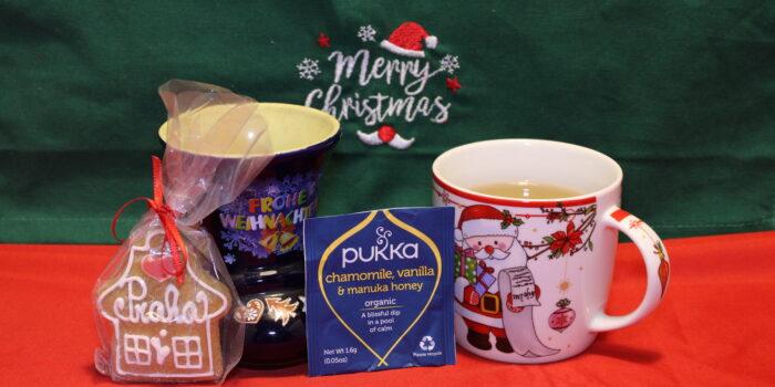 Pukka, Chamomile vanilla and manuka honey, cognaTHE, tisane, infusi, tè di natale, calendario dell'avvento, infusione, christmas tea