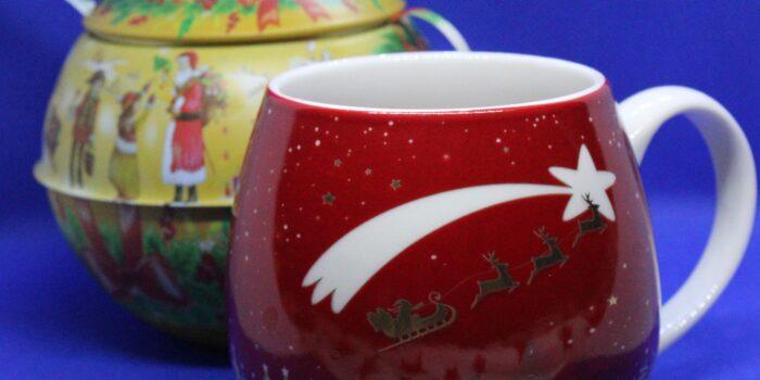 CognaTHE', tè, tisane, tè di Natale, Christmas Tea, tè di Natale del Tè dell'aviatore, Tè dell'aviatore, recensioni tè