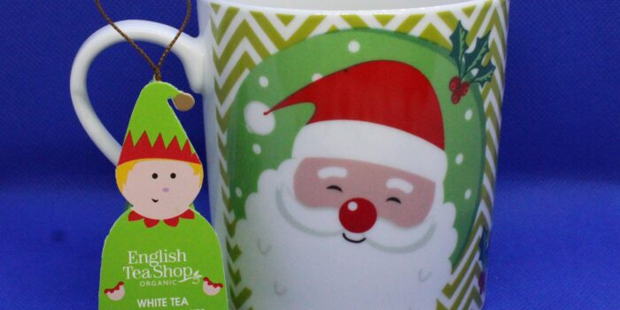 tè bianco con frutti tropicali, CognaTHE', tè, recensione tè, tè di Natale, Christmas Tea, Tè natalizio, English Tea Shop