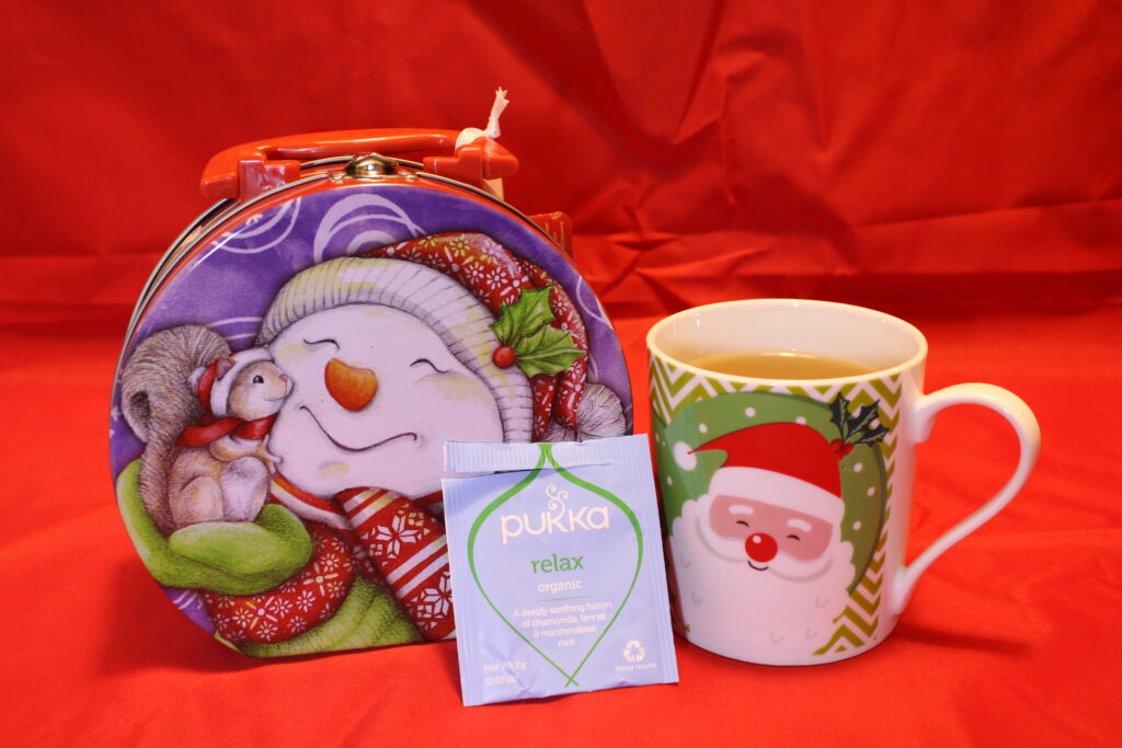 Pukka, Tisana Relax, cognaTHE, tisane, infusi, tè di natale, calendario dell'avvento, infusione, christmas tea