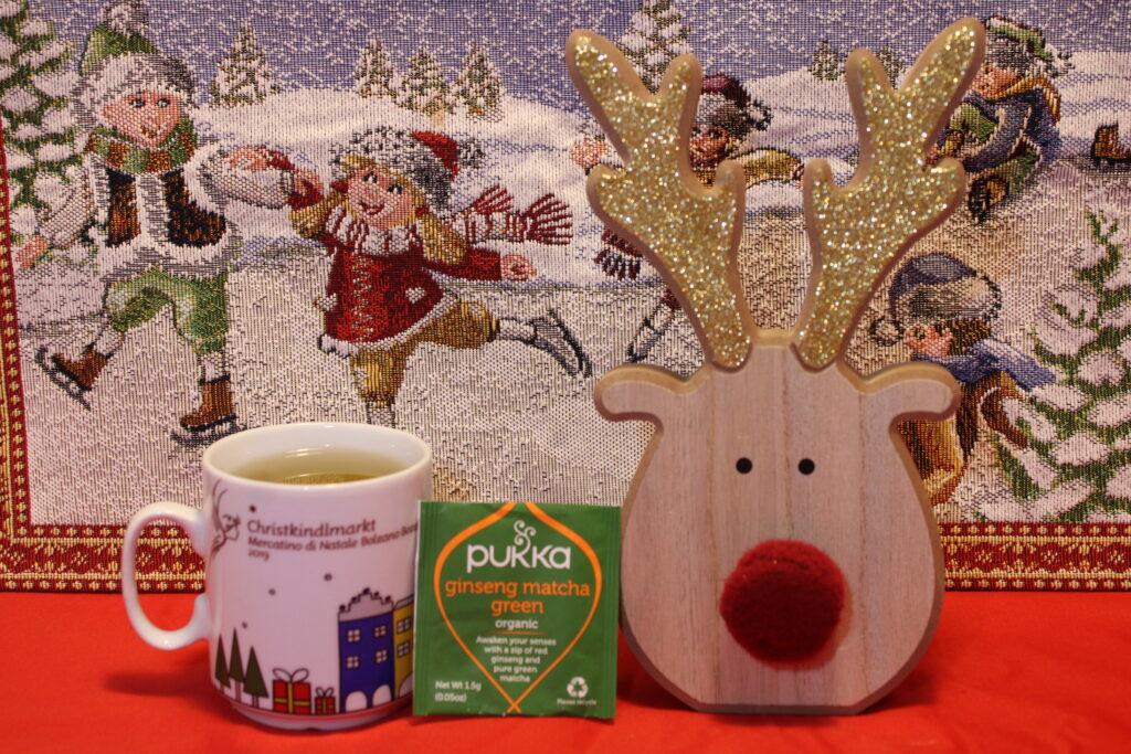 Pukka, Matcha Green, Matcha, tè verde, oolong, tisana 3 cannelle, cannella, cognaTHE, tisane, infusi, tè di natale, calendario dell'avvento, infusione, christmas tea