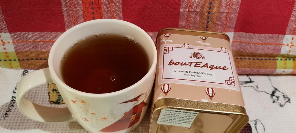 Tè nero sfuso Ceylon, tè nero Ceylon, tè Ceylon, BouTEAque Firenze, negozio BouTEAque, cognaTHE', recensioni tè, tè nero, black tea