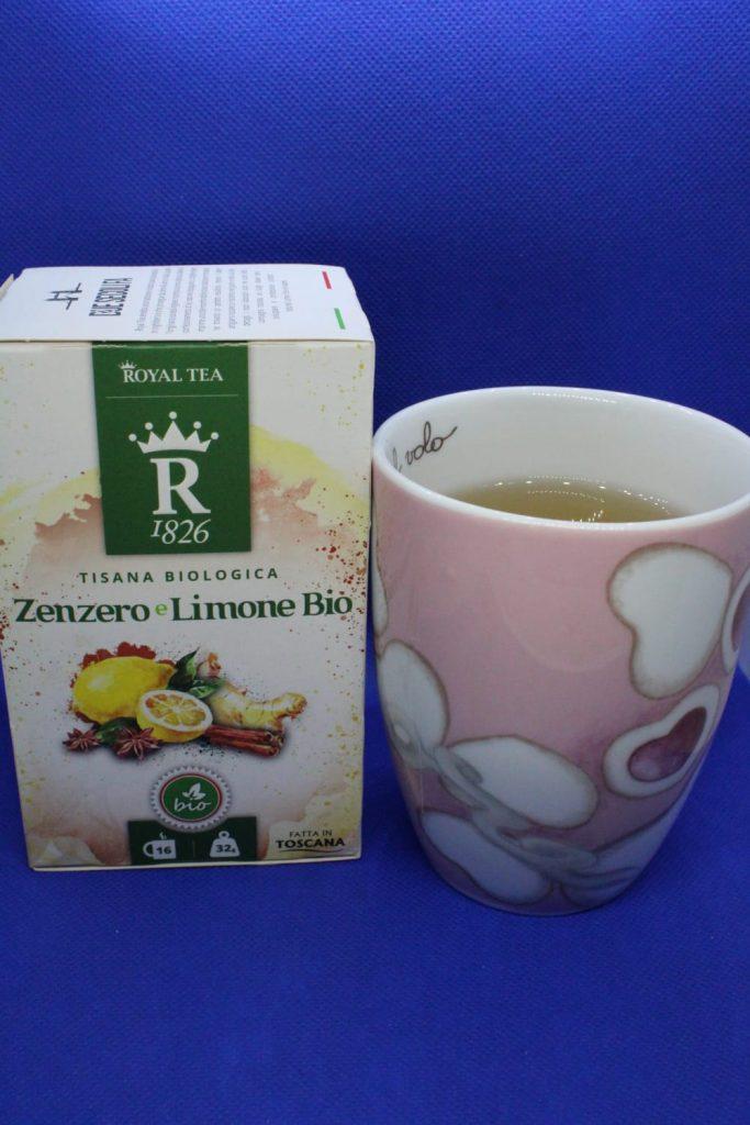 Tisana bio Zenzero e Limone di Royal Tea, Royal Tea, zenzero, limone, tisana, cannella, liquirizia, CognaTHE', blog di tè, tea